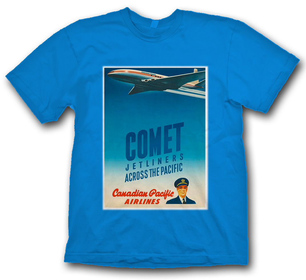 Canadian Pacific Comet Poster Shirt